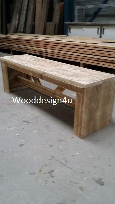 Houten Bankje Zonder Leuning.Bankje Zonder Leuningen Wooddesign4u Is Gespecialiseerd In