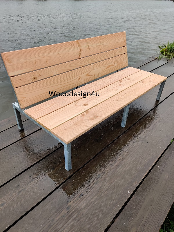 Loungebank en tafel