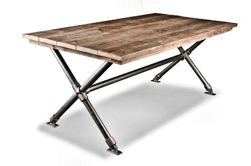 Steigerhout Steigerbuis Tafel : Steigerhouten tafels