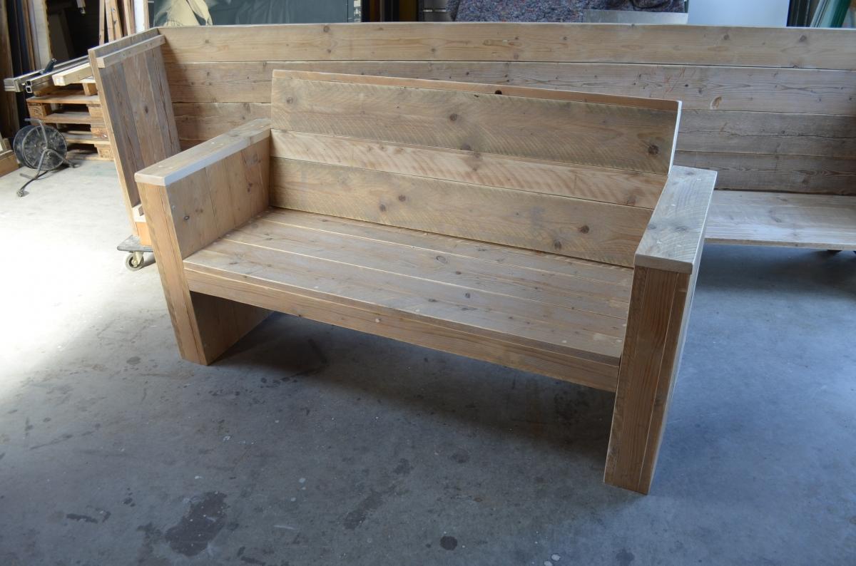 Steigerhouten Tuinbank Met Klep.Wooddesign4u Is Gespecialiseerd In Steigerhouten Meubelen