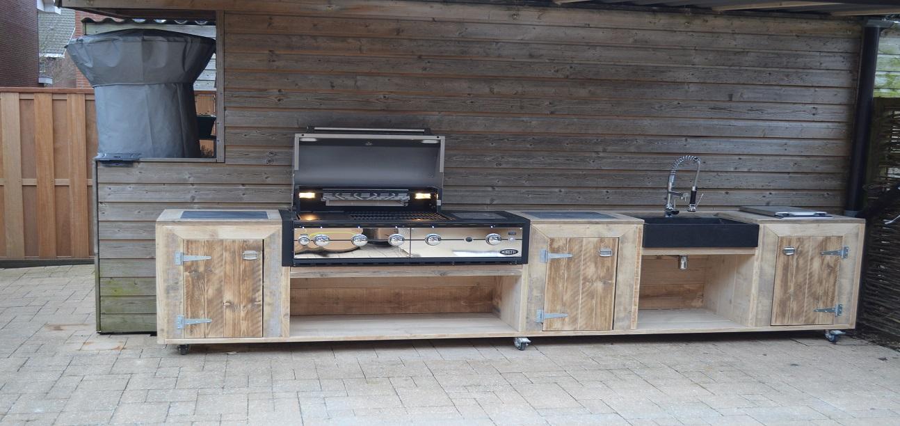 Buitenkeuken outdoor cooking - Eigentijdse barbecue ...